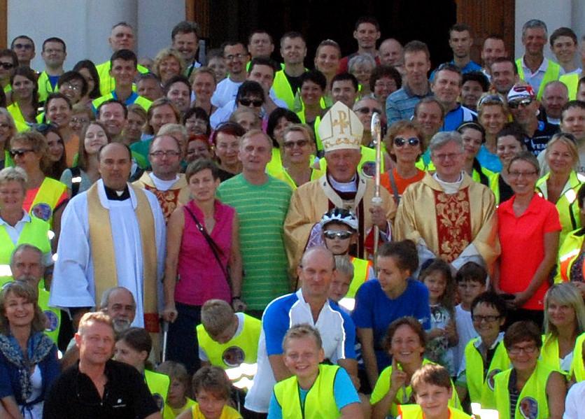 Wyjazd do Częstochowy w 2014 roku, przy udziale ks. kardynała Kazimierza Nycza